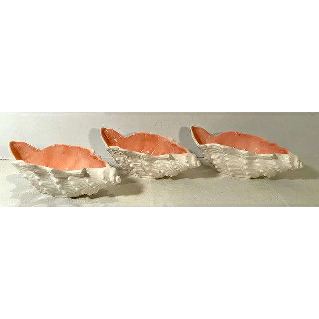Cute shell shaped bowls by Fitz And Floyd.