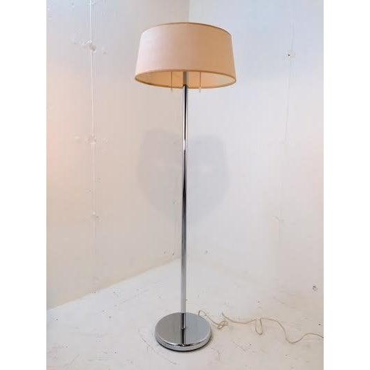 Mid-Century Modern Early Walter Von Nessen Floor Lamp For Sale - Image 3 of 8