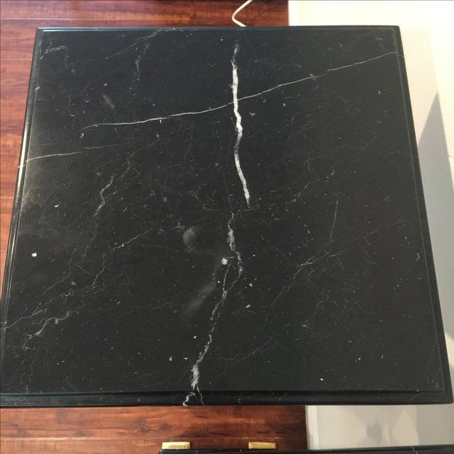 Ormolu-Mounted Black Marble Pedestals - Pair - Image 6 of 11