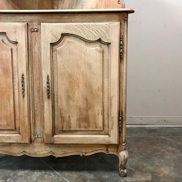 Antique Country French Stripped Corner Cabinet For Sale In Dallas - Image 6 of 13