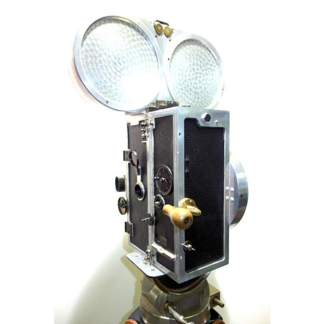 Wilart, 35mm Cinema Camera, One Off Factory Prototype, Circa 1919. Display As Sculpture. For Sale - Image 5 of 10
