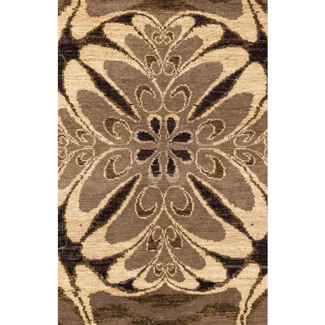 """Contemporary Contemporary Hand Knotted Area Rug - 6' X 8'6"""" For Sale - Image 3 of 3"""