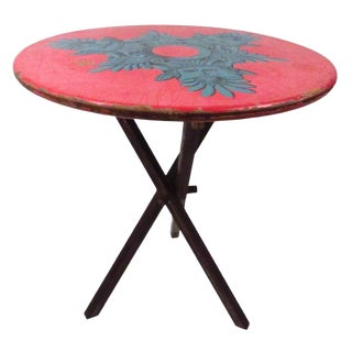 Exceptional Table by Piero Fornasetti For Sale