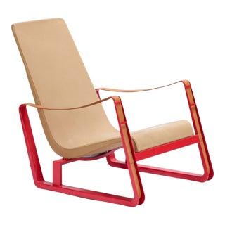 1930s Vintage Jean Prouve Cite Lounge Chair For Sale