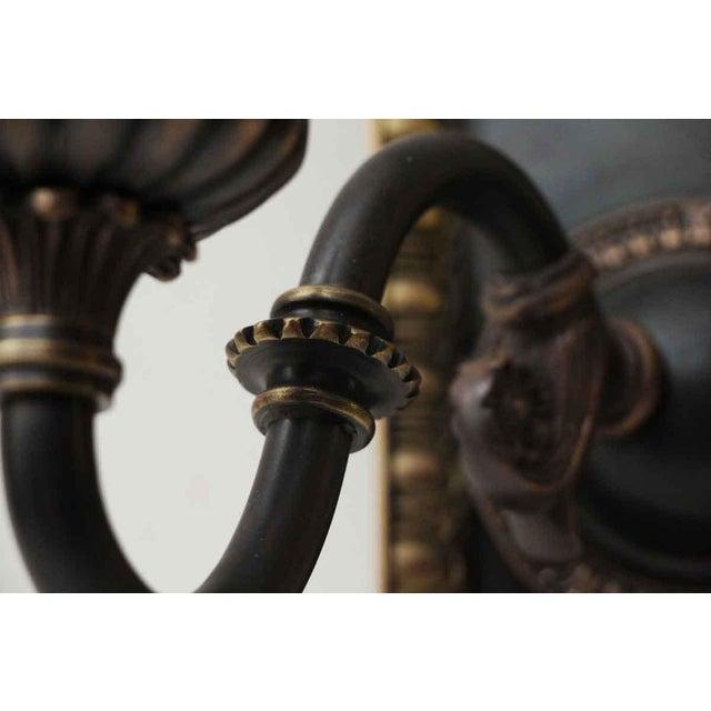 1920s Vintage Tudor Sconces - a Pair For Sale - Image 4 of 10