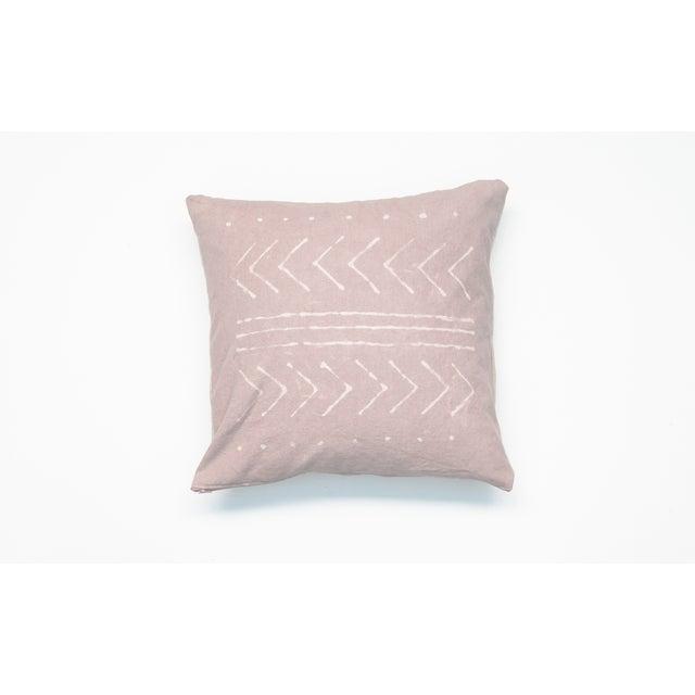 Rose Quartz Tribal Pattern Pillow Cover - Image 2 of 5