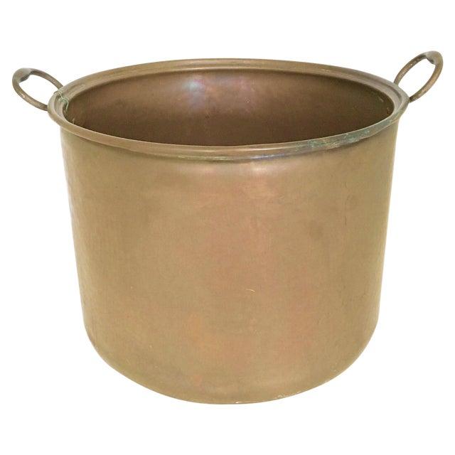 Vintage Rustic Copper Pot - Image 1 of 7