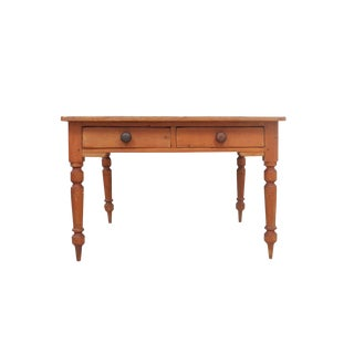1910s Traditional Dovetailed Farm Dining Table For Sale