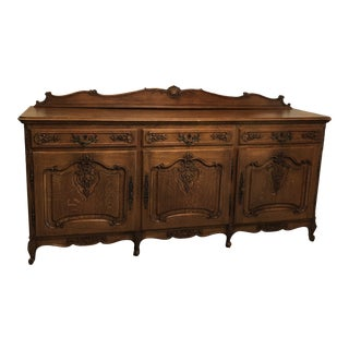 Rococo Louis XV Style French Buffet For Sale