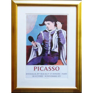 Pablo Picasso Paris, Galerie Poster Print Knoedler Hand Signed For Sale