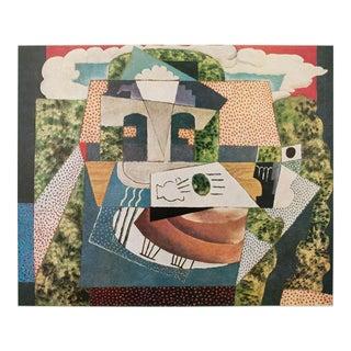 1971 Picasso Nature Morte Dans Un Paysage Parisian Photogravure