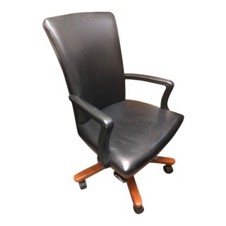 Cabot Wrenn Executive Leather Chair For Sale