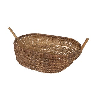 Antique French Chestnut Basket