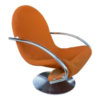 Verner Panton Swivel Lounge Chair For Sale