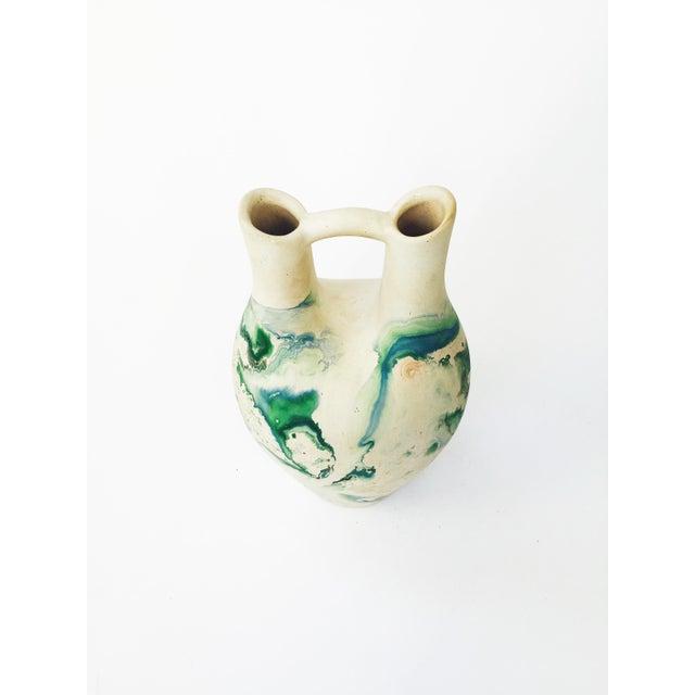 Vintage Large Nemadji Wedding Vase - Image 3 of 6