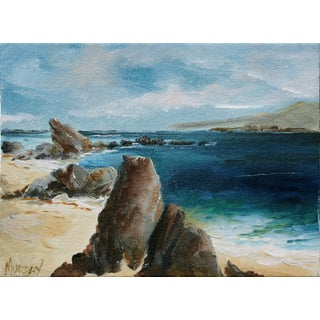 Rocky Beach by Kathleen Murray For Sale