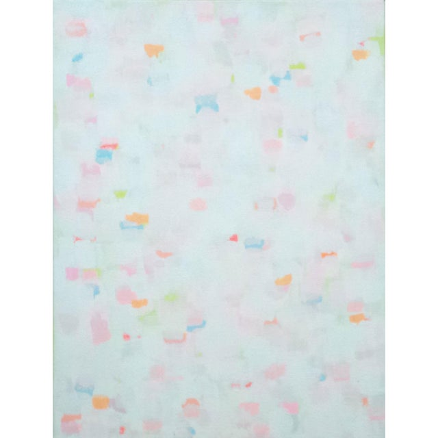 """Susie Kate """"Confetti No.4"""" Abstract Painting - Image 1 of 2"""