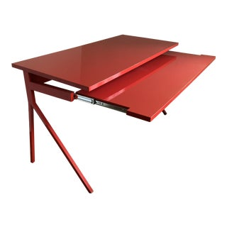 Blu Dot Red Lacquer Desk51 Computer/Writing Desk