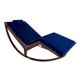 1950s Franco Albini Model No. Ps16 Rocking Chaise For Sale