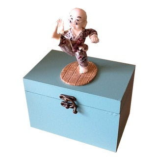Martial Artist Decor Box For Sale