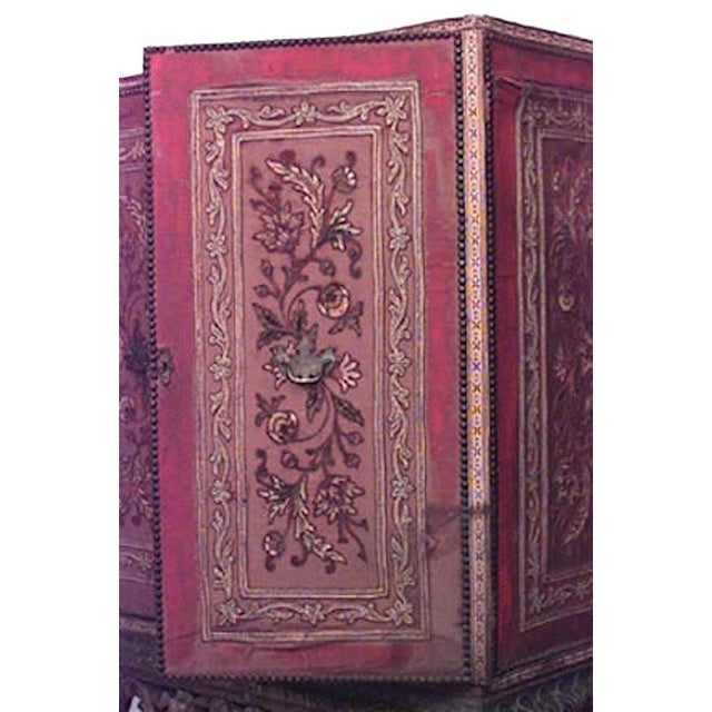Renaissance Revival Spanish Renaissance Style Cabinet on Stand For Sale - Image 3 of 6