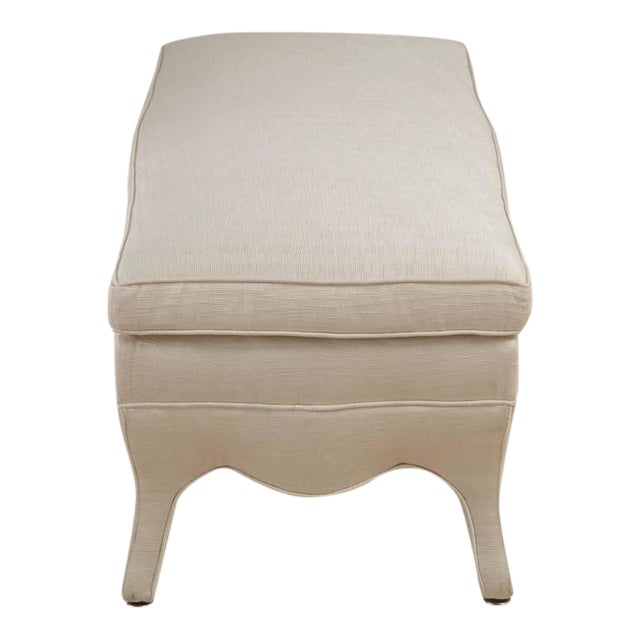 Standard French Style Long Stool by Talisman Bespoke - Image 1 of 7
