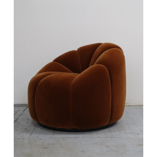 Modern Mid Century Design Lotus Chair For Sale - Image 3 of 6