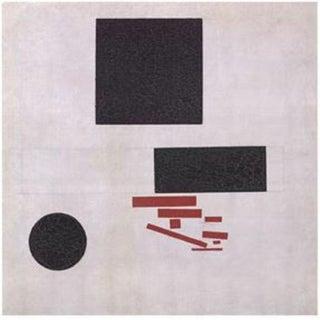 "Kazimir Malevich Lithographic Print ""Suprematistische Komposition"" C. 1996 For Sale"