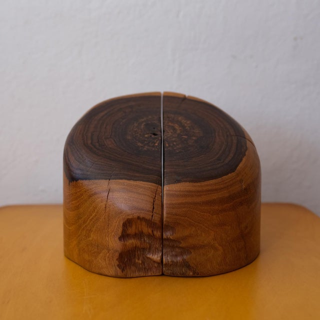 Wood 1960s Mexican Modern Bookends by Don Shoemaker For Sale - Image 7 of 10