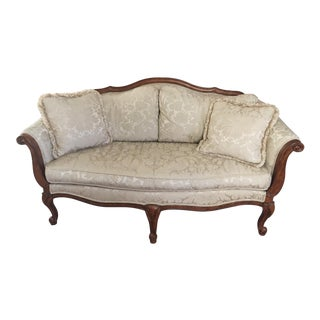 Ethan Allen French-Style Settee For Sale