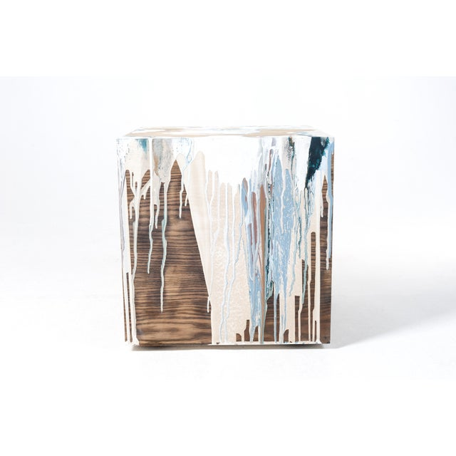 Abstract Losing It, Hand Crafted Table by Atelier Miru For Sale - Image 3 of 12