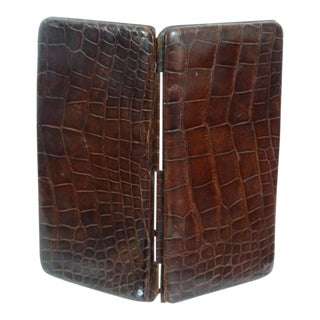 Genuine Crocodile Skin Card Case For Sale