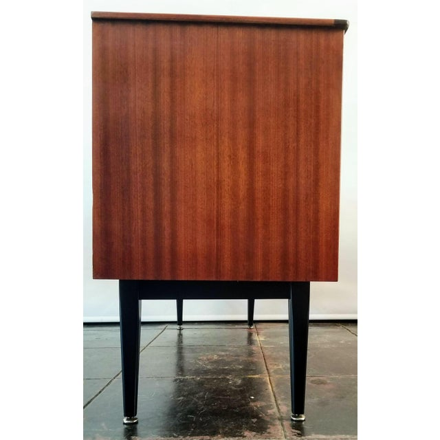Mid-Century Modern 1960s Danish Modern Jentique Furniture Tola and Rosewood Credenza For Sale - Image 3 of 12