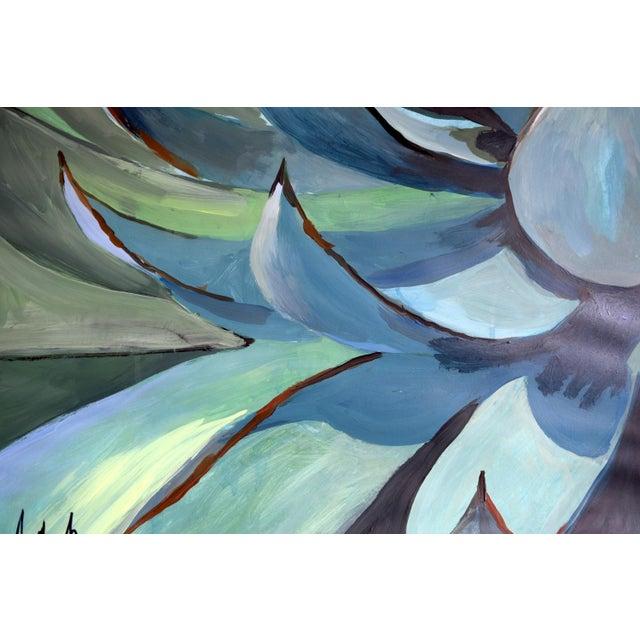 Agave Americana Acrylic Painting - Image 9 of 10