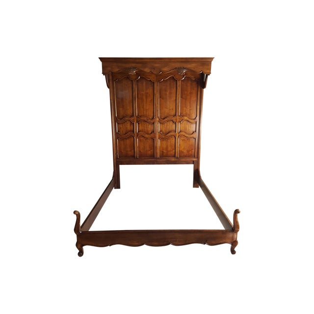 Henredon French Country Queen Bed - Image 1 of 9