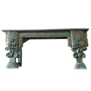 19th Century Accent Hall Table For Sale