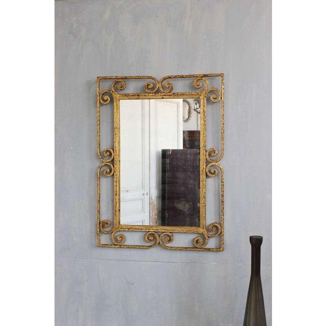 Spanish Gilt Metal Mirror - Image 4 of 10