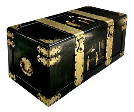 Image of Asian Antique Trunks and Blanket Chests