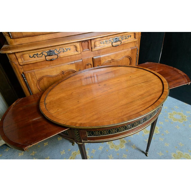 Late 19th Century Swiss Walnut Center Table For Sale - Image 5 of 10