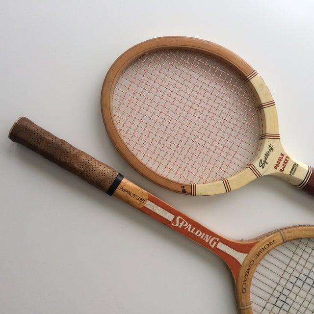 Vintage Spalding & Sportcraft Rackets- Set of 2 - Image 4 of 4