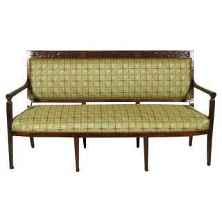 Italian Neoclassical Style Settee For Sale