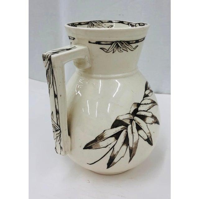 Dresden Porcelain Antique Pitcher For Sale - Image 4 of 11