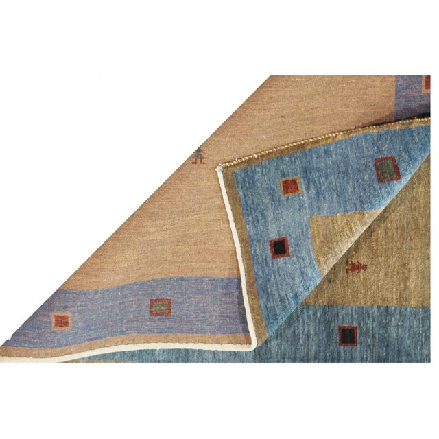 Persian Gabbeh Rug - 4 x 5.10 For Sale - Image 4 of 4