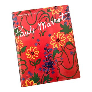 1996 Paule Marrot French Textile Artist Art Book For Sale