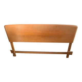Vintage Mid-Century Modern Heywood Wakefield Style Bed For Sale