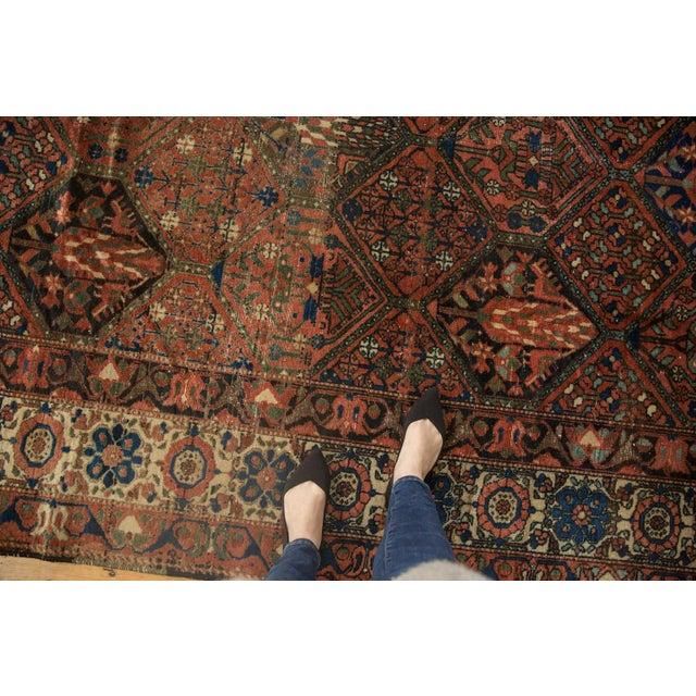 """1940s Vintage Baktiari Carpet - 7'1"""" X 9'11"""" For Sale - Image 5 of 12"""