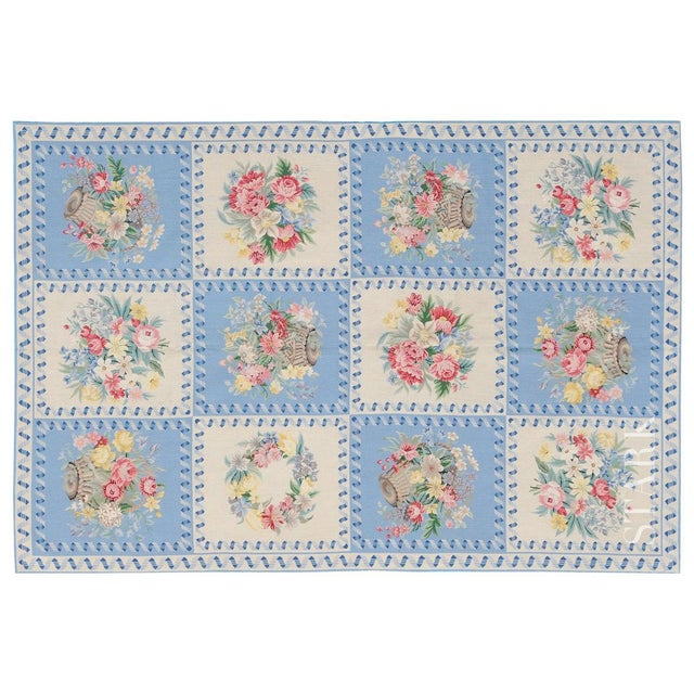 """Stark Studio Rugs Traditional Chinese Needlepoint Rug - 7'9"""" x 10' To care for your rug, it's best to have your rug..."""
