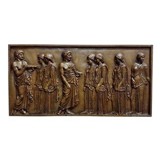 19th Century Neoclassical Bronze Barbedienne Plaque