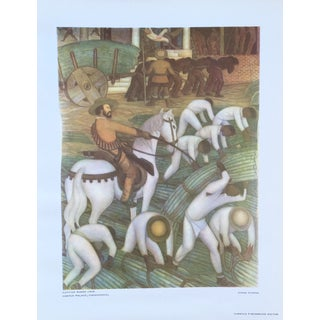 Diego Rivera Lithograph, 1946 For Sale