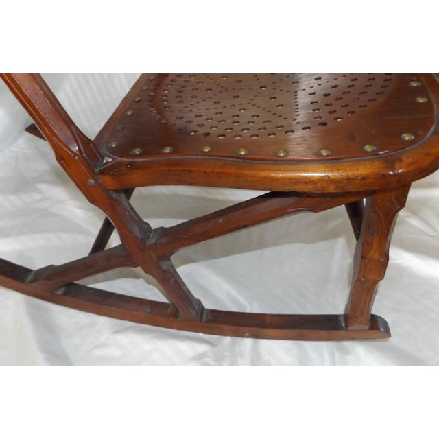 new concept b3b58 0ce83 Antique Childs Rocking Chair C. 1872